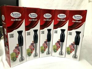 LOT of 5 NEW Hand Blender -Electric Hand Blender MIXER 120V  300w Alpine Cuisine