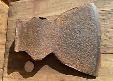 antique hewing ax axe head primitive ~ Marked 5