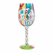 More details for lolita 6009211 birthday streamers wine glass