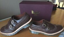 Dr Martens Braider brown beaumont leather shoes UK 9.5 EU 44 Made in England