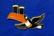 Guinness Ireland Brewery Toucan Bird Mascot in Flight Irish Beer Advertising Pin
