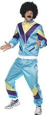 Smiffys Smiffy's - Costume per Travestimento Tuta anni '80 Uomo Taglia M