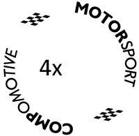4x Compomotive Th1780 th1 th2 Pegatinas stickers aufkleber vinilo vinyl