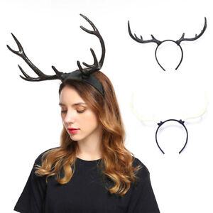 Xmas Antler Christmas Deer Horns Headband Headpiece Halloween Cosplay Headwears
