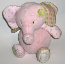 CoCalo Gift Collection  Pink Elephant PLUSH  Piggy Bank for baby/nursery