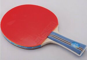 Double Fish2-3-4A long handle shakehand ping pong racket table tennis paddle USA