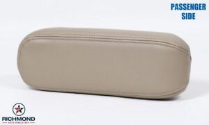 2005 Ford Excursion Limited-Passenger Side Replacement Leather Armrest Cover Tan