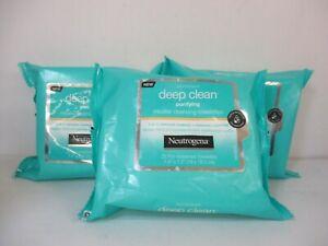 75 NEUTROGENA DEEP CLEAN PURIFYING MICELLAR CLEANSING WIPES  EXP 7/21+ JL 12501