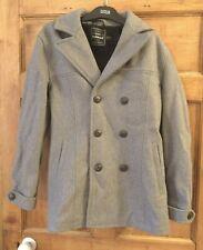Topman Grey Coat Mens Size S