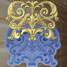 Dekor Stuck Verzierung Silikonform Ornament Relief VINTAGE DEKO Molds (200)