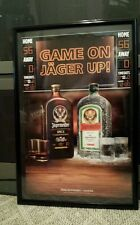 JAGERMEISTER GAME ON JAGER UP NEW SIGN
