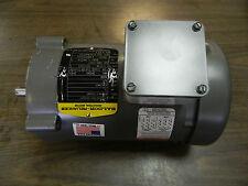 Baldor 1/2 HP AC Motor, 0106666769-000040, M34A63-232MD, 230/460 V, 3 Ph, Used