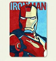 Iron Man Inspired Painting w/ Holes Abstract Art 8 X 12 Novelty Aluminum Sign