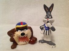 Looney Tunes Taz & Bugs Bunny Salt & Pepper Shaker Set NEW 2000 Collectible
