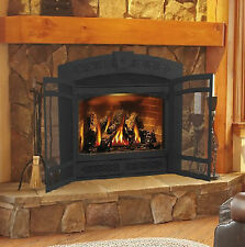 Napoleon Gas Fireplace Starfire GD70 Direct Vent arched Package Deal with Vent