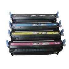 4 x HP Reman Toners Q6470A Q6471A Q6472A Q6473A Fits Laserjet 3600 3800 CP3505