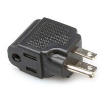Hosa PWA-486 Right-Angle Power Adaptor, NEMA 5-15R to NEMA 5-15P