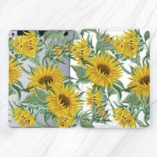 Vintage Sunflower Nature Floral Case For iPad 10.2 Air 3 Pro 9.7 10.5 12.9 Mini