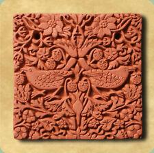 William Morris Strawberry Thief Decorative Terracotta Wall Tile