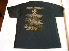 DEBAUCHERY – rare original 2007 european TOUR T-Shirt!!  metal