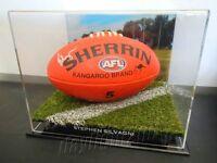 ✺Signed✺ STEPHEN SILVAGNI Football PROOF COA Carlton Blues 2020 Jumper AFL