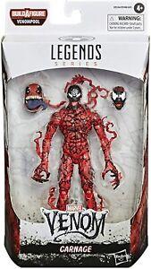 CARNAGE Marvel Legends Action Figure (2020) Venom Spider-man BAF VENOMPOOL, NEW!
