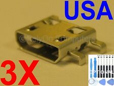 3x Lot Micro USB Charging Port Charger For LG G Stylo H631 LS770 MS631 H635 USA