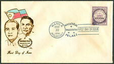 1961 Philippines MACAPAGAL-PALAEZ INAUGURATION First Day Cover - C