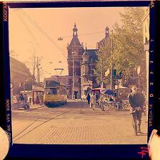 Amsterdam Tram Leidseplein Square Holland 60s Photograph Colour Negative Slide