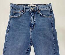 NWOT Topshop Women's Blue Jeans sz 26 waist Skinny Distressed Jamie Stretch