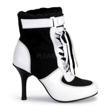 Black White Referee Soccer Player Sneaker Boots Halloween Costume Shoes Womans