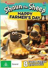 Shaun The Sheep - Happy Farmer's Day (DVD, 2017)