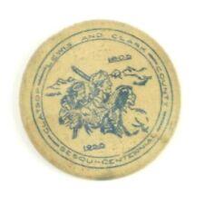 Wooden Nickel Lewis & Clark Clatsop County Oregon Sesquicentennial 1805-1955