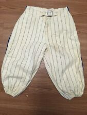 Baseball Pants Vintage Little League Youth Blue And White Unbranded 1950's 60's