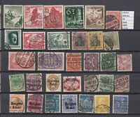 LOT STAMPS GERMANY REICH USED (L35252)