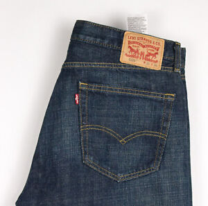 Levi's Strauss & Co Hommes 505 Jeans Jambe Droite Taille W36 L36 BBZ224