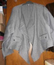 Veste courte JEAN-MARC PHILIPPE - Taille 8 (54/56) - gris chiné - NEUVE !!!