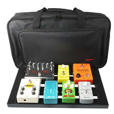 Mr.Power Protable Guitar Effect Pedal Board with Padding Bag Case 47 cm x 27 cm
