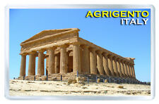 AGRIGENTO ITALY FRIDGE MAGNET SOUVENIR IMAN NEVERA