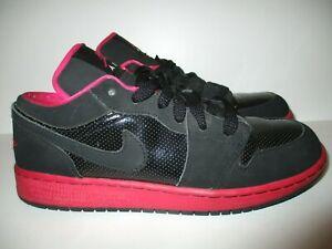 Nike Air Jordan 1 Low Flex Black / Voltage Cherry Size 6.5Y