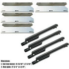 Replacement Grill Heat Plate and Burner for Jenn Air Gas Grill Repair Kit,4 pack
