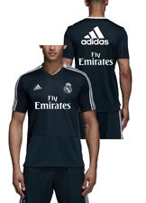 Real Madrid Adidas Maillot Entreinment Blue Sponsor Fly Emirates 2018 19