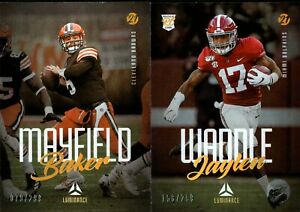 2021 Panini Luminance Gold Parallel Base W/ Rookie RC #/299 - You Pick For Set
