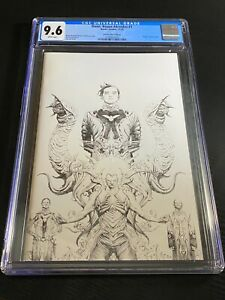 Dune House Atreides #1 Jae Lee Virgin 1:25 B&W Sketch Variant CGC 9.6