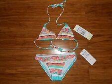 NWT ROXY Bathing Suit Bikini Girls Kids Size 5 MRSP $44
