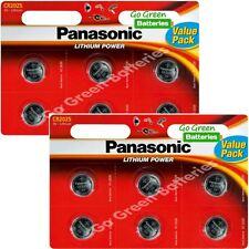 12 x Panasonic CR2025 3V Lithium Coin Cell Battery 2025