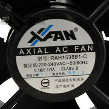 Original AXIA AC FAN RAH1538B1-C 220-240V high temperature fan UPS fan