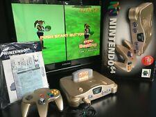 Nintendo 64 Gold JAP - Box / Notice - Serial Matching