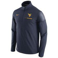 Men's Nike West Virginia Mountaineers Elite Coaches 1/2 Zip Jacket Small NWT $80