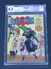 Batman 84 CGC 4.5 Golden Age 1954 Catwoman The Sleeping Beauties of Gotham city